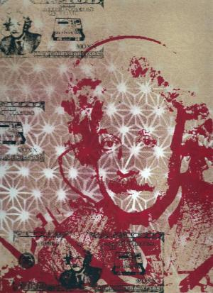 Albert Einstein Money Print by Voxx Romana